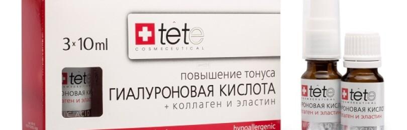 Описание продукции Tete косметика