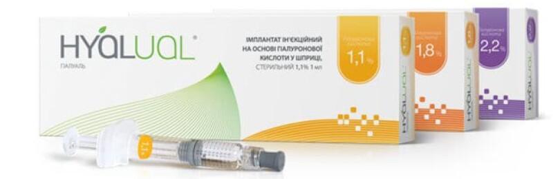 Гиалуаль (Hyalual) — линейка препаратов для редермализации кожи
