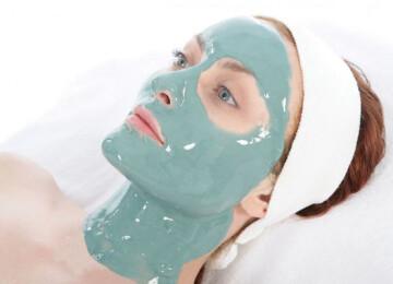Применение альгинатной маски для лица