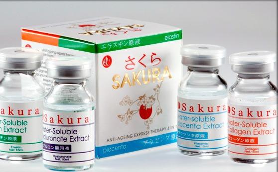 японский препарат Сакура для мезотерапии
