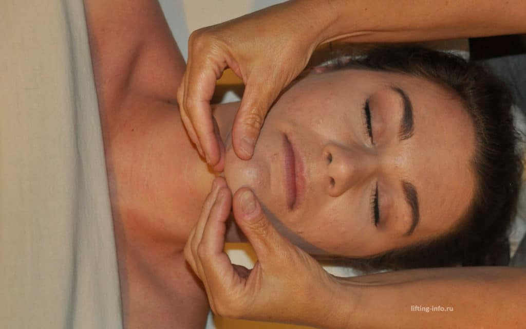 массаж для подтяжки